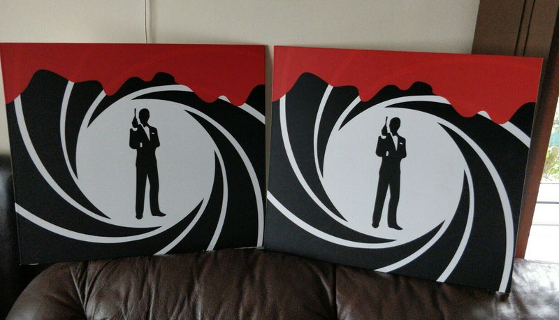 2 Original james bond film posters