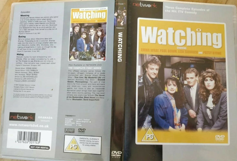 Watching Series 1  Episodes Meeting Outing Hiding DVD cert PG region 2