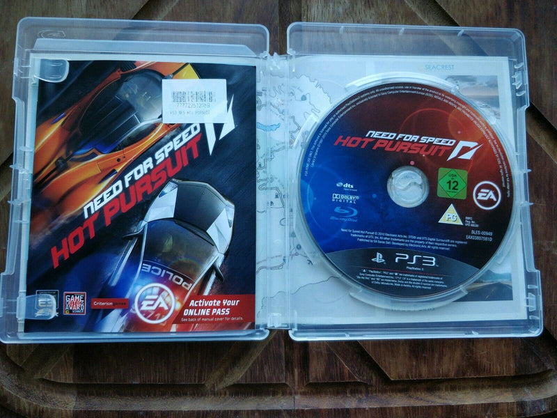 Need for Speed: Hot Pursuit Sony PlayStation 3 ps3 game