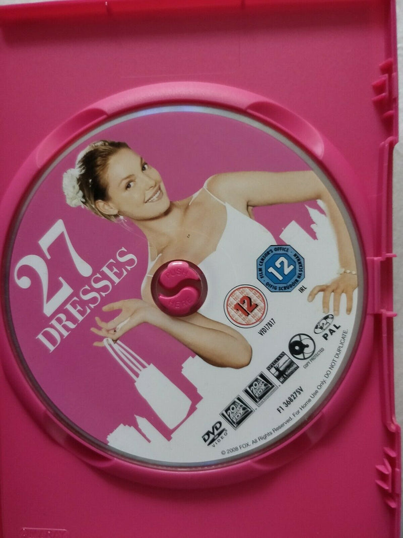 27 Dresses DVD cert 12 region 2