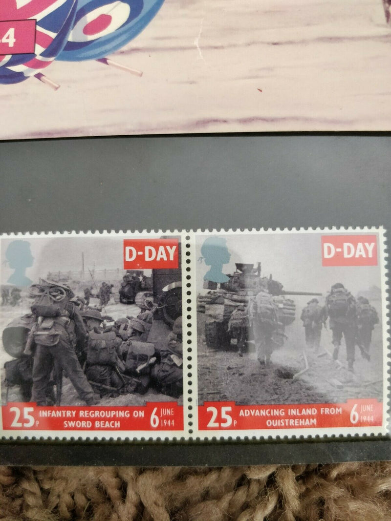Royal Mail mint stamps presentation pack D-Day 6th June 1944 1994