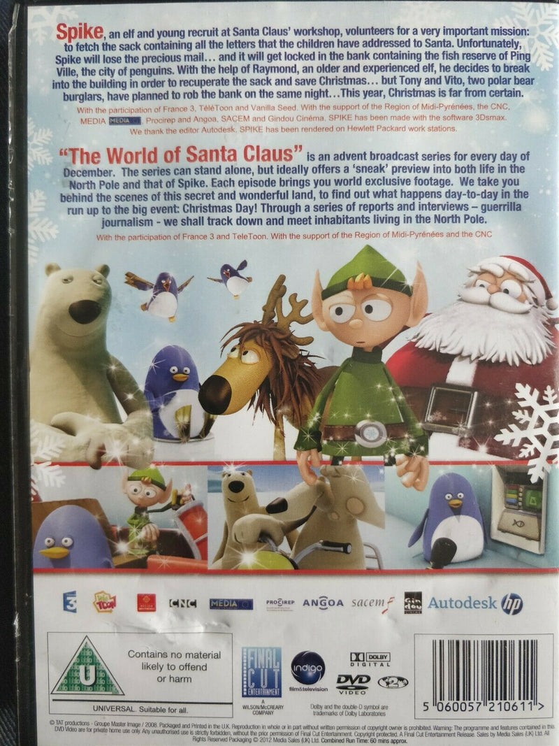 Spike - A Christmas Adventure DVD cert U region 2