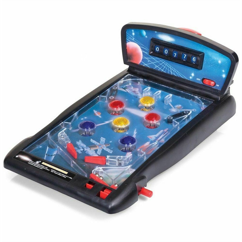 Space Pinball tabletop game with authentic sound effects and style