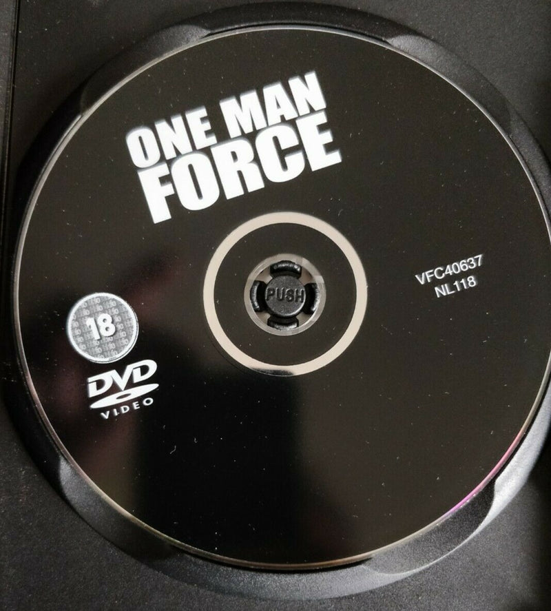 One Man Force DVD cert 18 region 0 Action Film