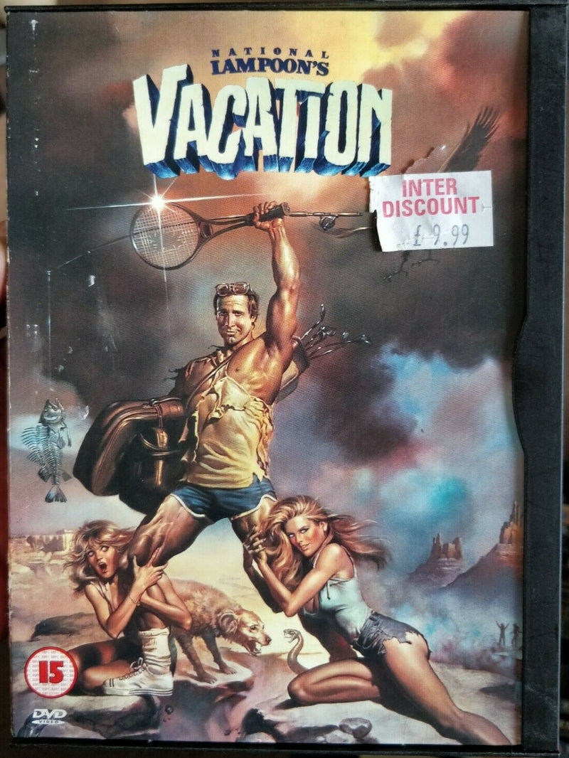 Vacation DVD cert 15 region 2