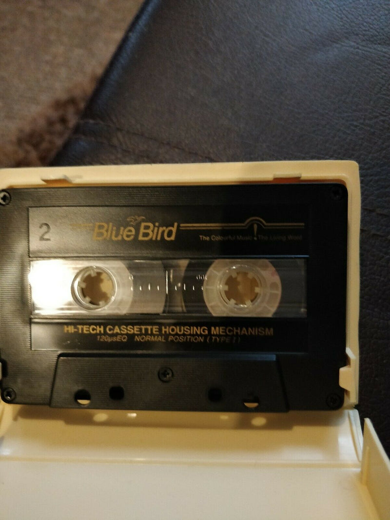 Vintage cassette tapes christmas with stevie wonder