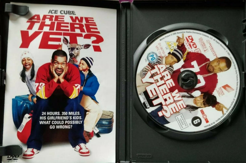 Are We There Yet DVD cert 15 region 2