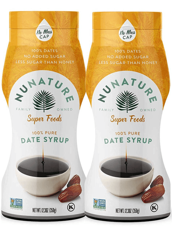2 Pack NuNature Premium Date Syrup