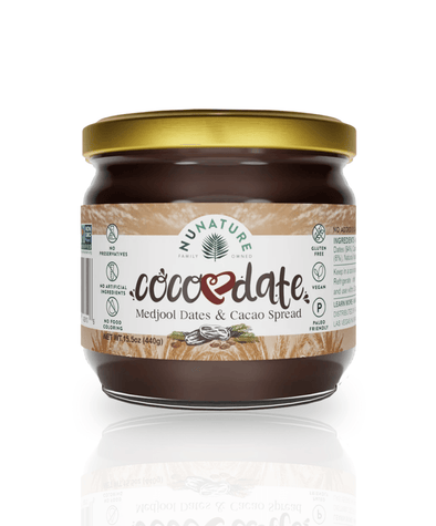 NuNature Chocolate CocoDate Spread