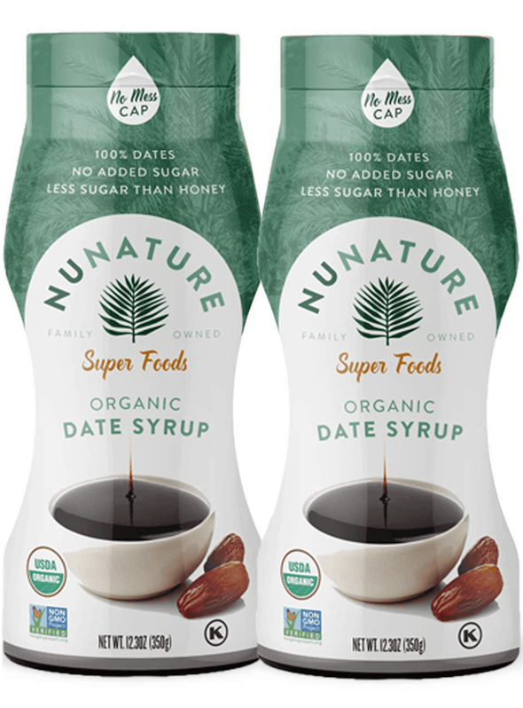2 Pack NuNature Organic Date Syrup