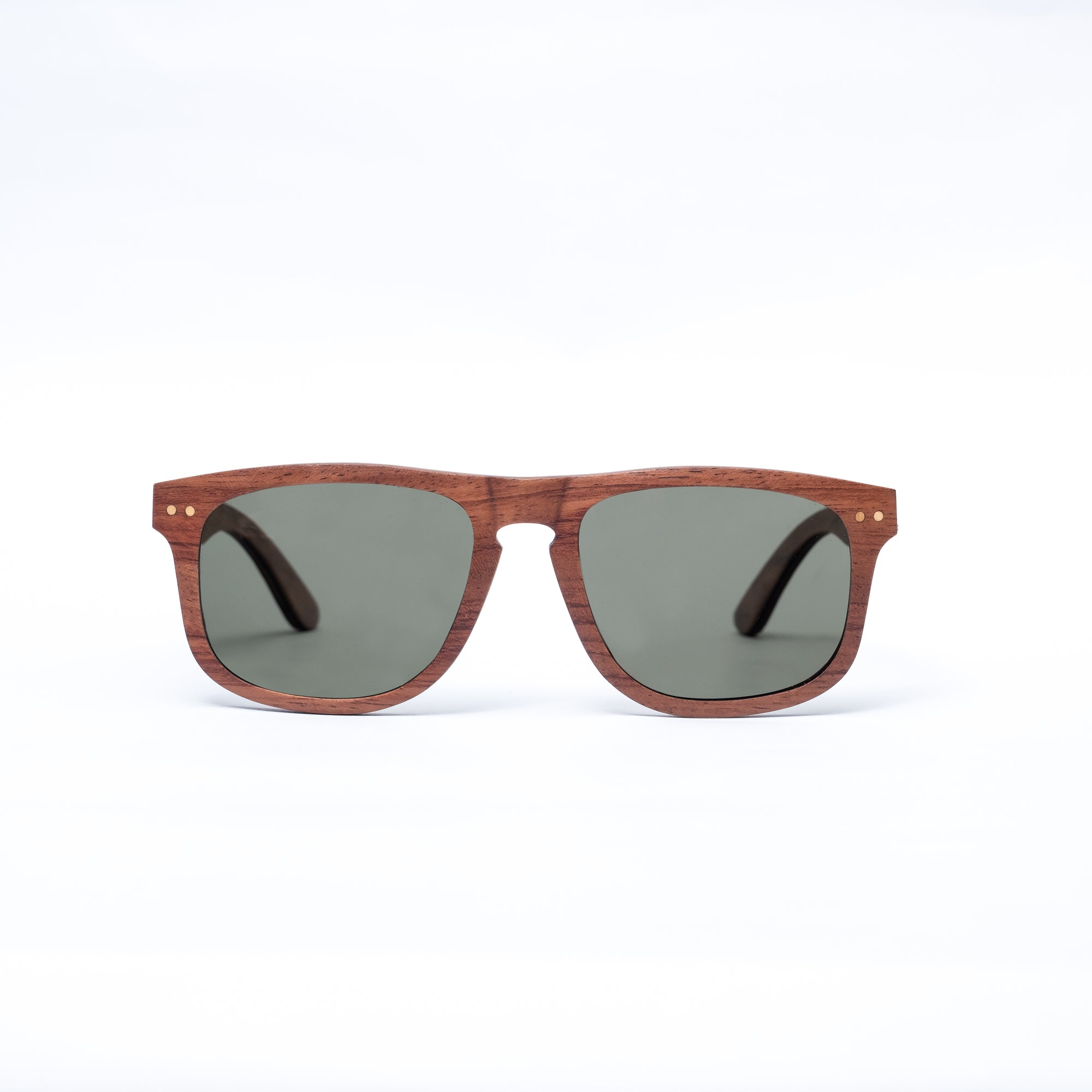 Black Cherry Wood Sunglasses - Oakfin