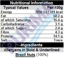 Whole Brazil Nuts - PURIMA
