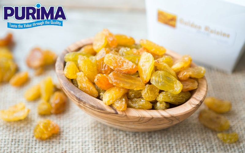 Golden raisins sultanas - purima