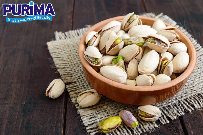 Roasted and Salted Pistachios nuts - PURIMA