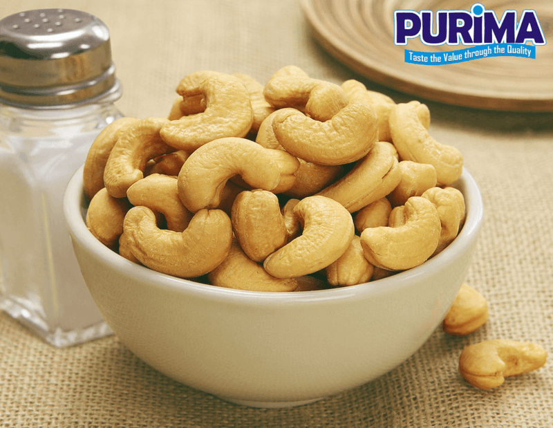Roasted & Salted Whole Cashew Nuts