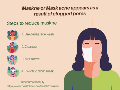 what is maskne and how to cure maskne