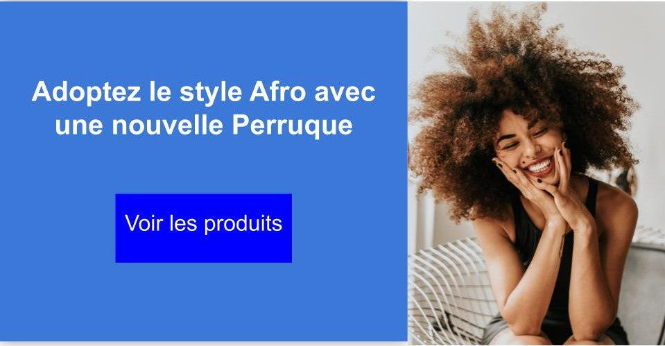 Collection de perruques afro
