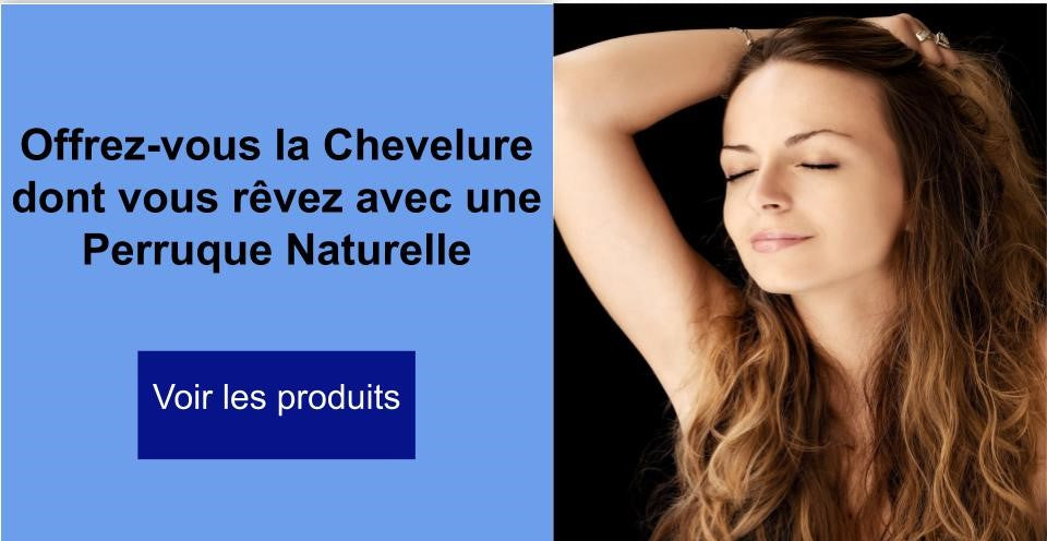Perruque naturelle