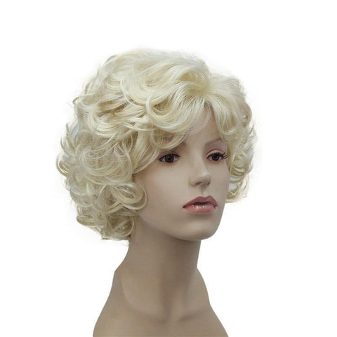 Perruque Curly Blond | Perruque-Club