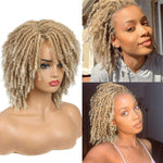 Perruque Tresse Africaine Blonde