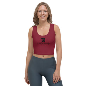 Deep Red Origin 2.0 Crop Top