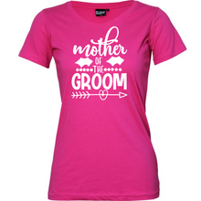 Load image into Gallery viewer, Mother Of The Groom - Woman's T-Shirt Wedding