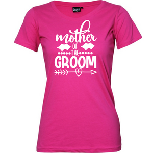Mother Of The Groom - Woman's T-Shirt Wedding
