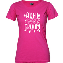 Load image into Gallery viewer, Aunt of the Bride/Groom - Woman's T-Shirt