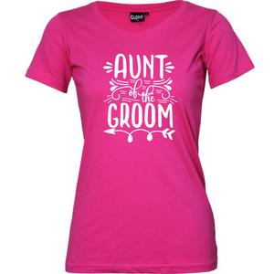Aunt of the Bride/Groom - Woman's T-Shirt