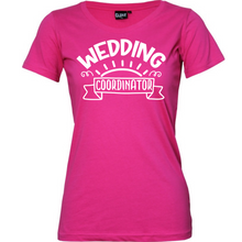 Load image into Gallery viewer, Wedding Coordinator - Woman's T-Shirt Wedding