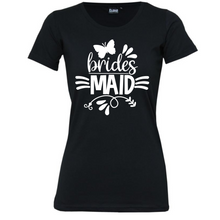 Load image into Gallery viewer, Bridesmaid  - Woman's T-Shirt Wedding