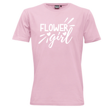 Load image into Gallery viewer, Flower Girl - Kids  T-Shirt Wedding