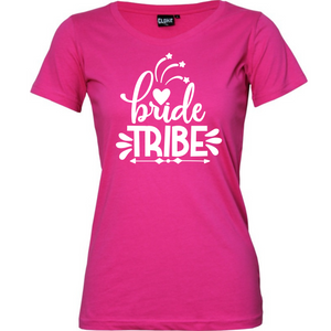 Bride Tribe - Woman's T-Shirt Wedding