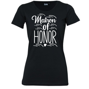 Maid Of Honour - Woman's T-Shirt Wedding