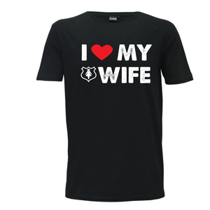 """I Love My Wife"" Mens T-Shirt"