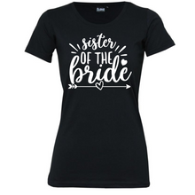 Load image into Gallery viewer, Sister Of The Bride/Groom- Woman's T-Shirt Wedding
