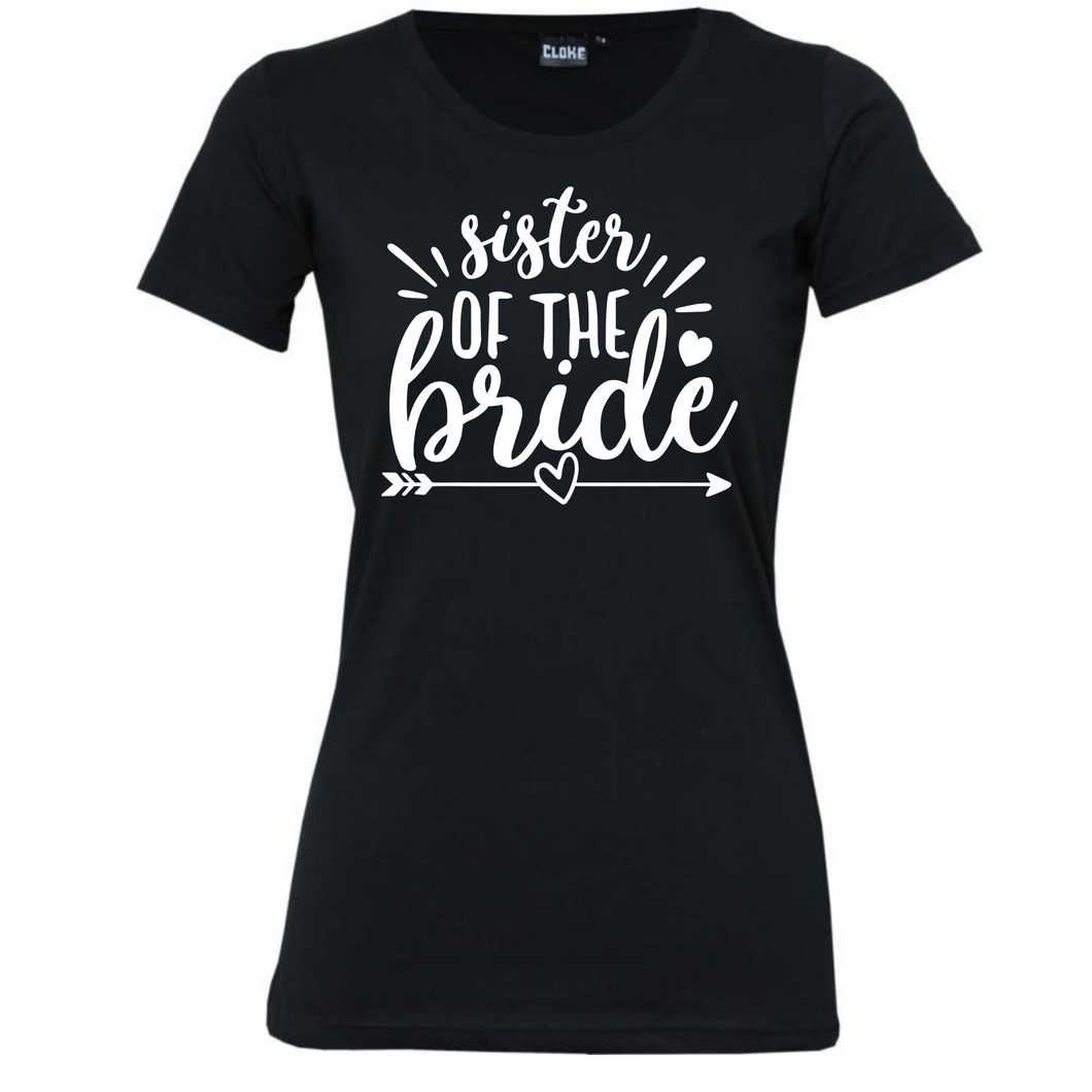 Sister Of The Bride/Groom- Woman's T-Shirt Wedding