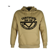 Load image into Gallery viewer, Certified Zip Tie Technician Hoodie Unisex