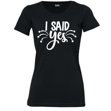 Load image into Gallery viewer, Engagement - Woman's T-Shirt Wedding