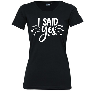 Engagement - Woman's T-Shirt Wedding