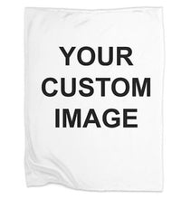 Load image into Gallery viewer, Design your own Super Soft Fleece Blanket