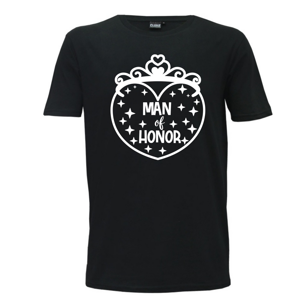 Man Of Honor - Mens T-Shirt Wedding