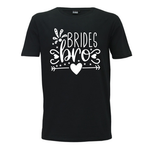 Brides Bro - Mens T-Shirt Wedding