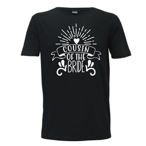 Cousin Of The Bride - Mens T-Shirt Wedding