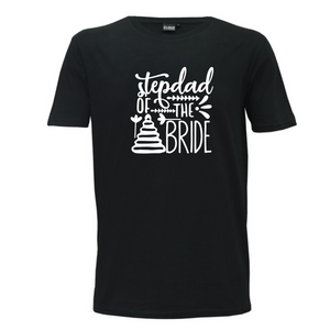 Stepdad Of The Bride - Mens T-Shirt Wedding