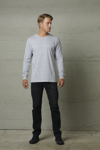 MENS LONG SLEEVE LOAFER TEE - 100% 220gsm Cotton - Your Custom Design Printed