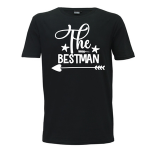 Best Man - Mens T-Shirt Wedding