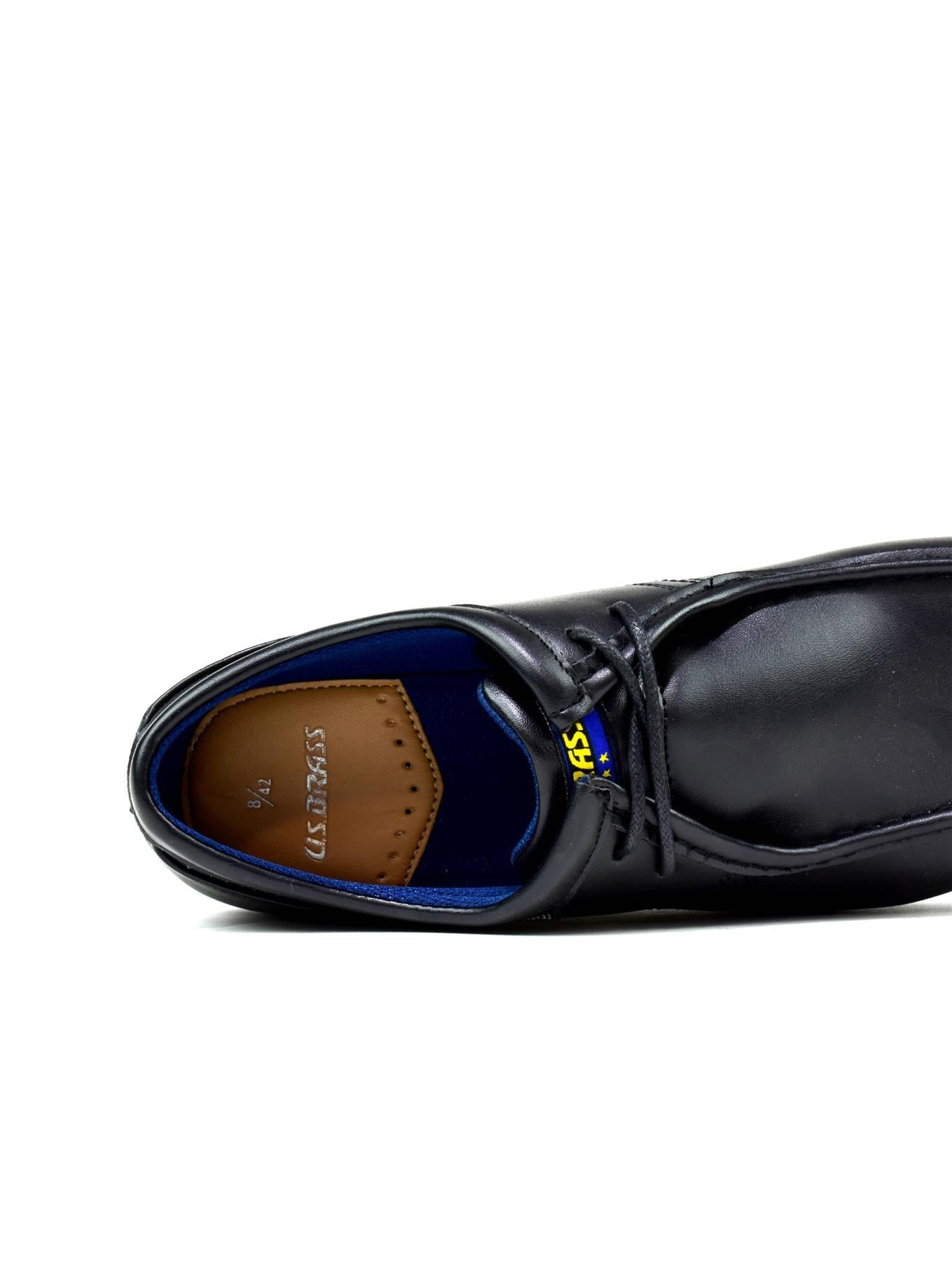English black shoes