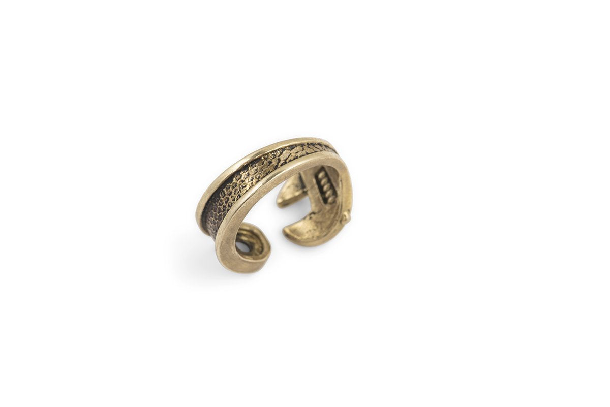 wrench ring for working men jewelry