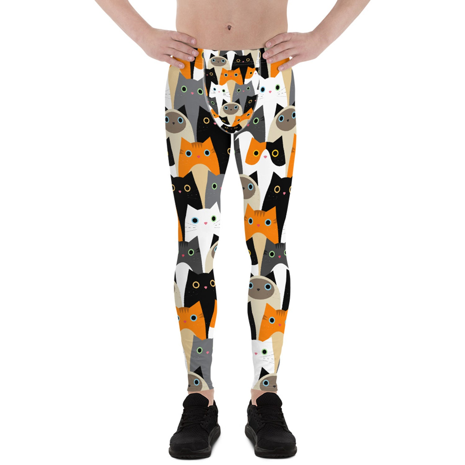 Cat Leggings for Men